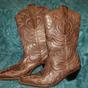 Vintage Cathy Jean women's boots size 5